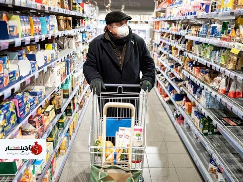 نکاتی برای مراقبت از کرونا در هنگام خرید