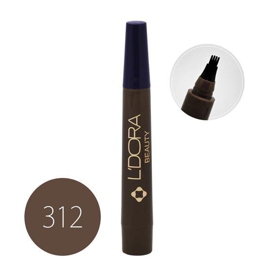 قلم هاشور ابرو کد ۳۱۲ لدورا ۴ گرمی