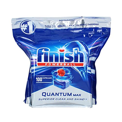 قرص ماشین ظرفشویی کوانتوم فینیش finish بسته ۱۰۰عددی