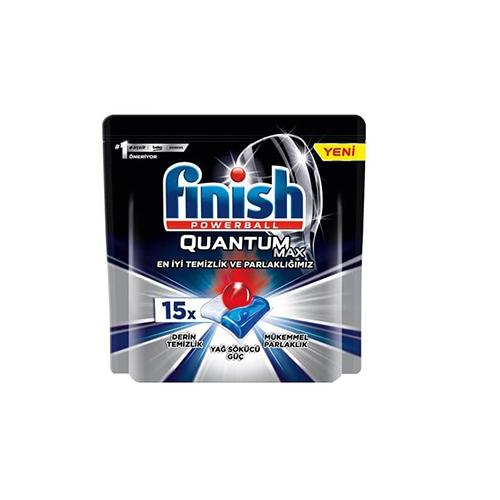 قرص ماشین ظرفشویی مدل QUANTUM MAX فینیش بسته ۱۵ عددی