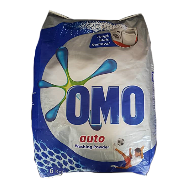 پودر ماشین لباسشویی امو OMO درجه دو وزن ۶ کیلوگرم