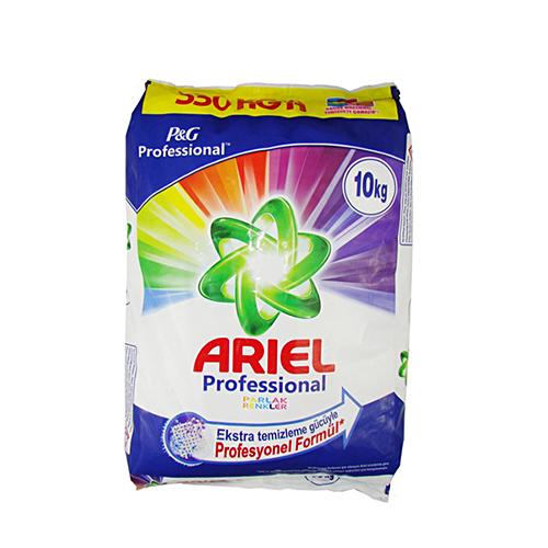 پودر ماشین لباسشویی آریل ARIEL درجه یک وزن ۱۰ کیلوگرم