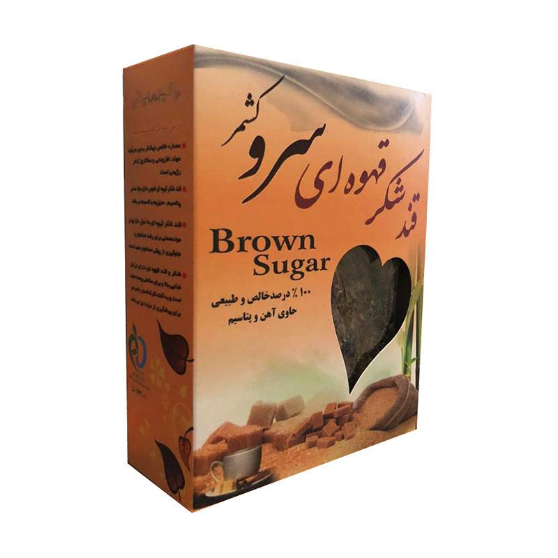 قند شکر قهوه ای سروکشمر ۴۰۰ گرمی