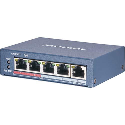 سوییچ شبکه ۴ پورت هایک ویژن مدل DS-3E0105P-E