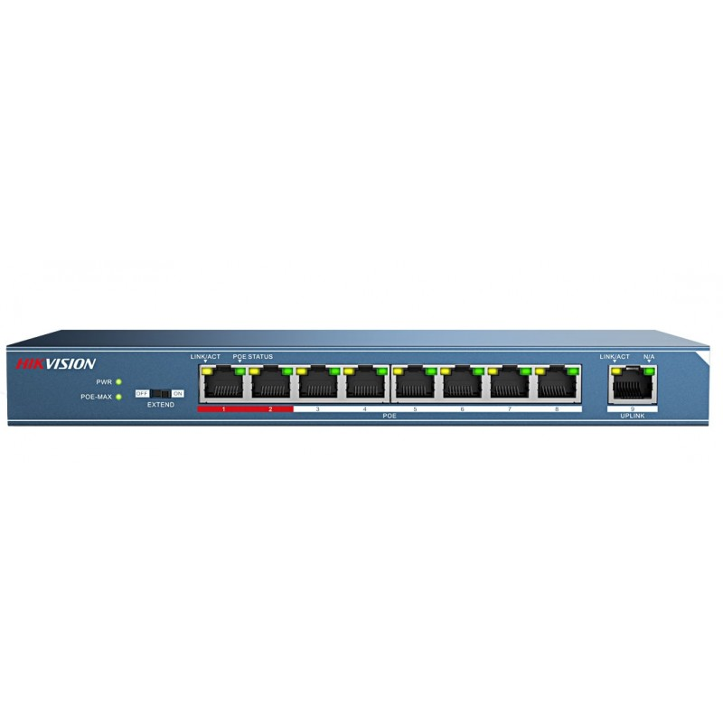 سوییچ شبکه ۸ پورت هایک ویژن مدل DS-3E0109P-E