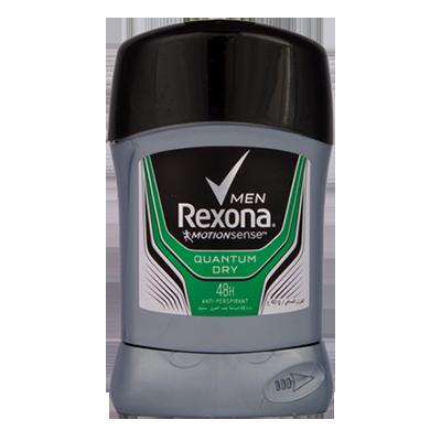 استیک صابونی ضد تعریق مردانه مدلQUANTUM DRY رکسونا حجم ۴۰ میلی لیتر