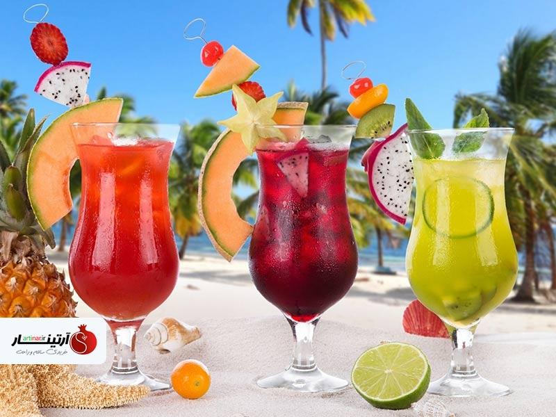 آموزش درست کردن چند نوشیدنی تابستانی خنک