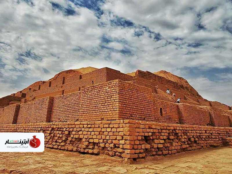 آشنایی بیشتر با معبد چغازنبیل در خوزستان